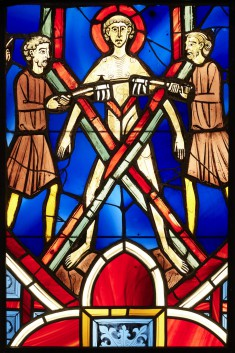 Window Panel with St. Vincent of Saragossa on the Rack