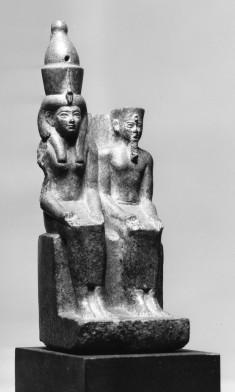 Amun and Mut Seated