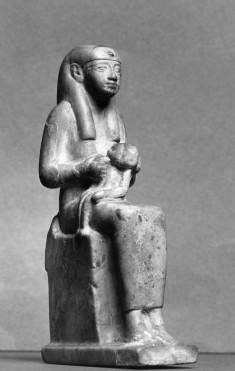 Isis Nursing the Child Horus