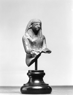 Seated Male Scribe (?)