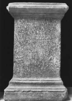 Votive Altar to Mithras