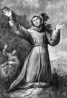 St. Francis of Assisi Receiving the Stigmata