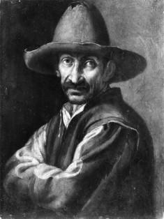 Half-length Portrait of a Peasant