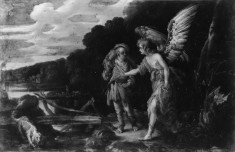 Tobias and the Angel (Apocrypha, Tobit, V-VI)