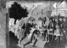 Pompey's Head Brought to Julius Caesar