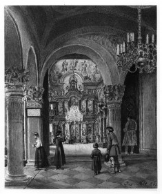 Interior of Greek Orthodox Church