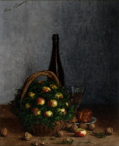Still Life with Wine, Fruit, and Nuts