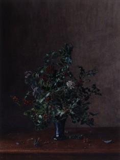 Vase of Holly