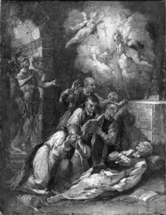 The Death of St Gregory the Great