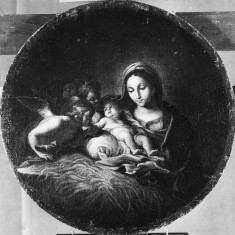 Virgin and Child with Three Angels