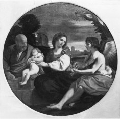 Rest on the Flight into Egypt with a Music-making Angel