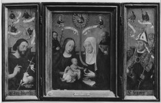 Triptych: The Holy Kinship