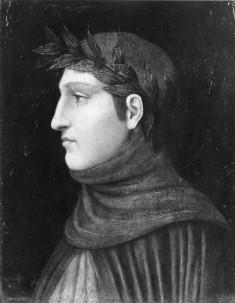 Profile Portrait of a Poet (Petrarch (?))