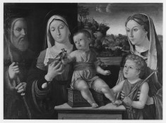The Holy Family with the Young Saint John the Baptist and Saint Elizabeth (?)
