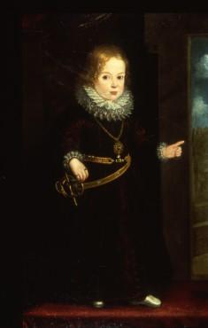Portrait of a Child Prince