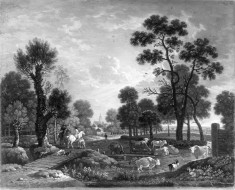 Landscape with Horsemen and Cattle