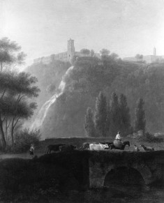 Landscape, the Cascades of Tivoli