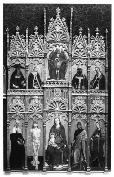 Madonna and Child, the Trinity, and Saints