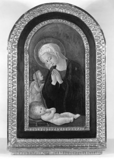 Madonna Adoring the Child with the Infant John the Baptist