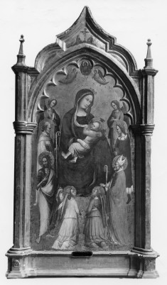 The Madonna of Humility with Saints and Angels