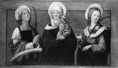 Saint Anne with Saint Catherine of Alexandria and Saint Lucy