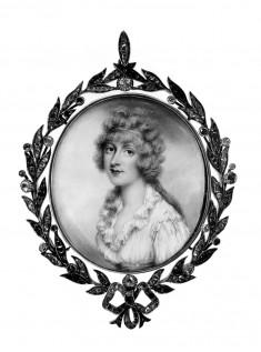 Portrait Miniature of Dorothy Jordan