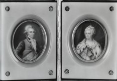 Czarina Catherine II and Count Alexander Lanskoy