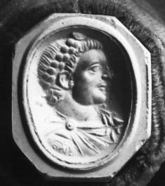 Bust of an emperor wearing a diadem