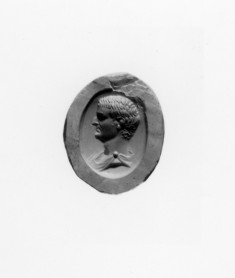 Intaglio with the Head of a Man