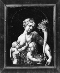 Plaque with an Allegorical Representation of Charity