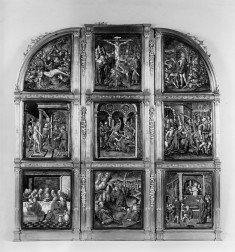 Triptych with Scenes of the Passion of Christ