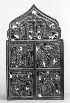 Crucifixion and Scenes from the Life of the Virgin