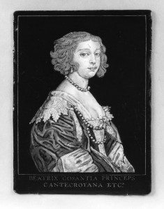 Portrait of Béatrice de Cusance, Princess of Cantecroix