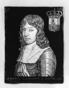 Portrait of Charles, Prince of Lorraine