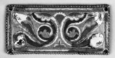 Plaque with Scroll Work