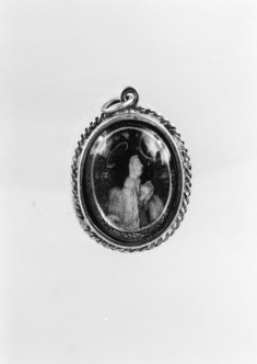 Pendant with the Virgin and Saint Teresa of Avila