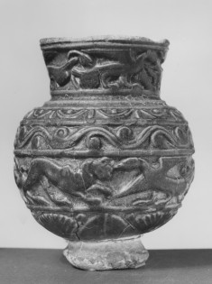 Vase with Relief Decoration