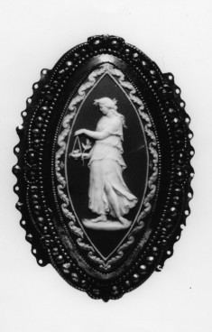 Belt Clasp with a Woman Making a Sacrifice