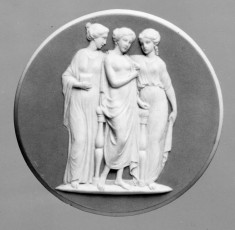 Medallion with the Three Graces