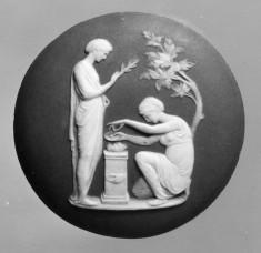 Medallion with a Sacrifice to Peace