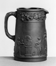 Pitcher with sacrificial scene and worship of Cupid