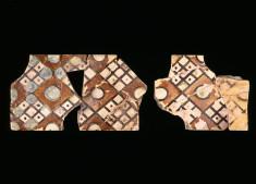 Flat Rectangular Pattern Tiles