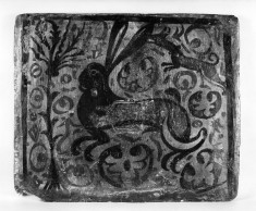 Ceiling tile (socarrat) with a hare