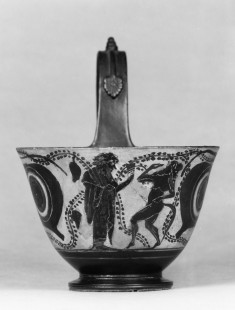 Kyathos with Dionysos and Eyes