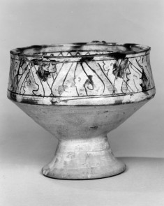 Stemmed Cup with Incised Designs