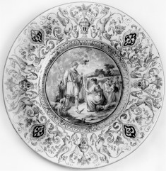 Plate with Ruth and Boas