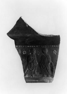 Scene of Tobias in Relief