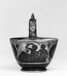 Kyathos Depicting Men on a Banqueting Couch