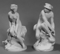 Statuettes of Venus and Mercury
