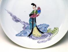 Dish with a Taoist Immortal Holding a Jar